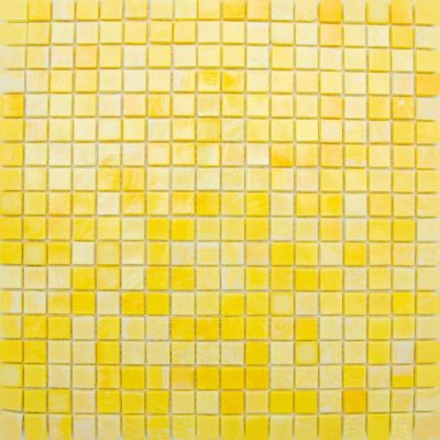 Beautiful yellow glass mosaic. Made in Italy. Perfect for backsplashes, shower walls, and accent walls.